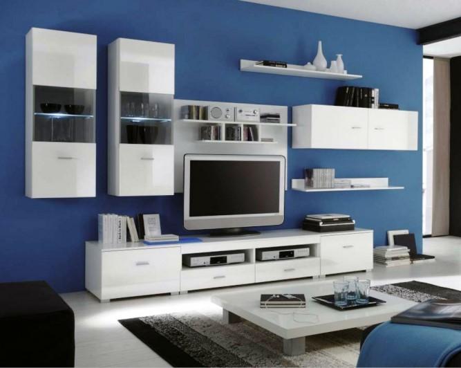 White high gloss living room furniture sets modern design - White gloss living room furniture sets ...