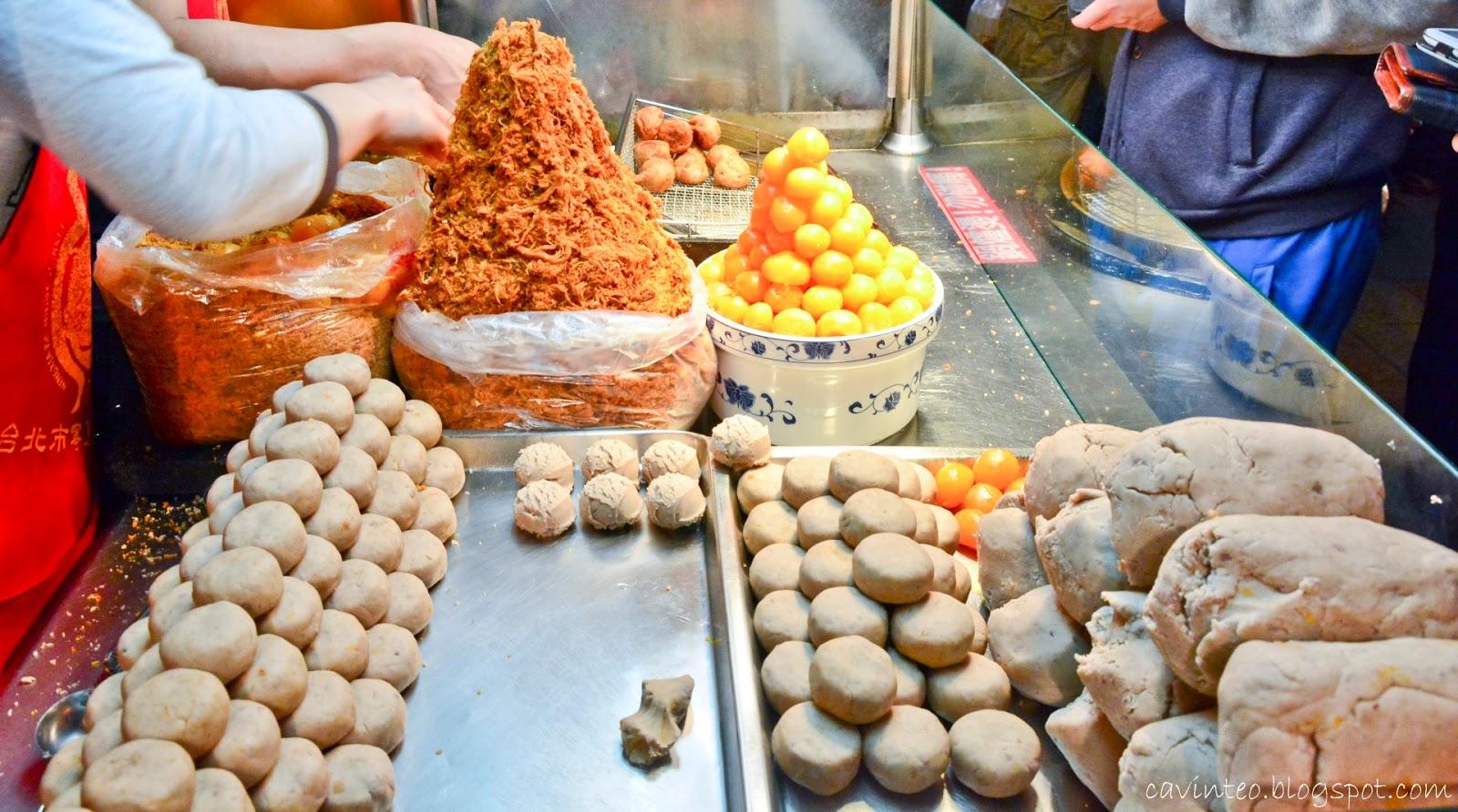 Deep Fried Taro Ball Taipei Taiwan