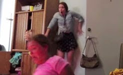 Worst Twerk Fail EVER – Girl Catches Fire!