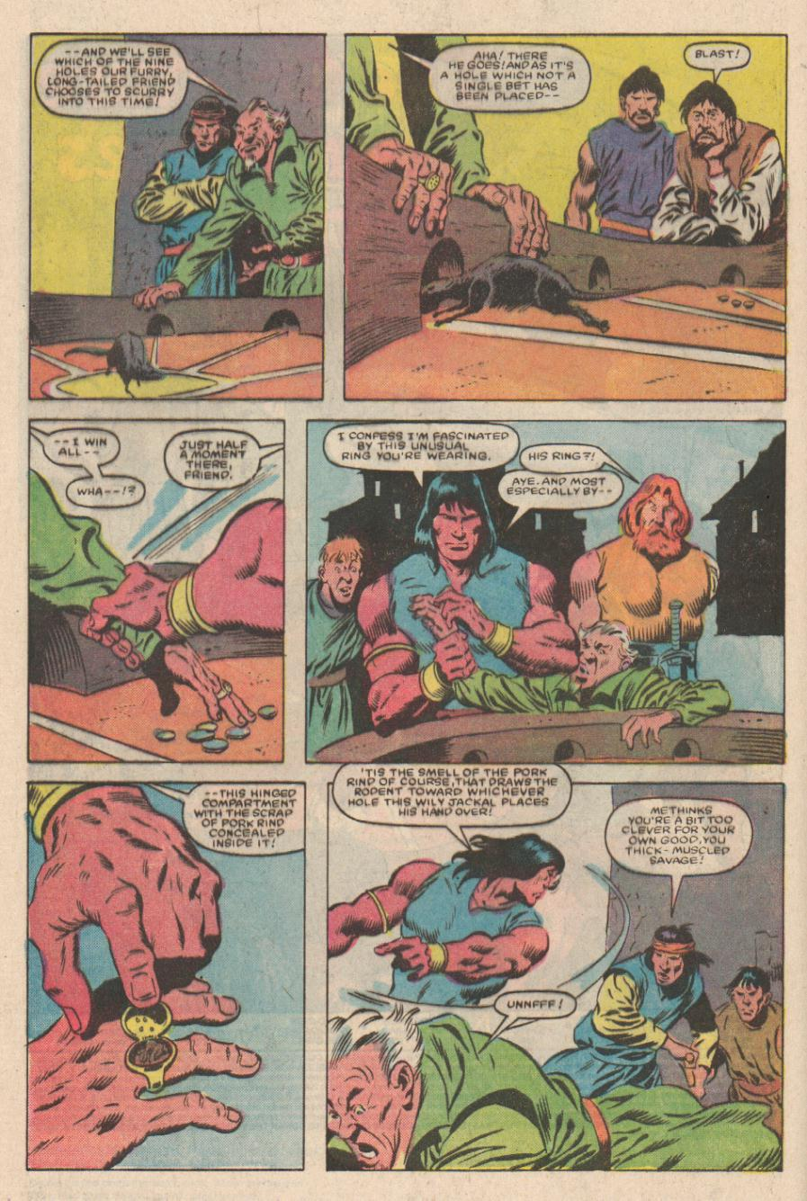 Conan the Barbarian (1970) Issue #167 #179 - English 3