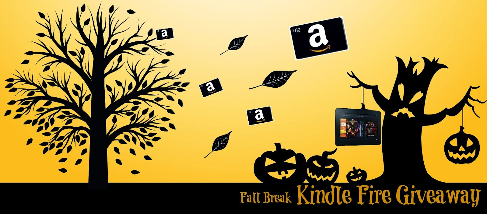 Win a Kindle Fire or $50 Amazon GC!