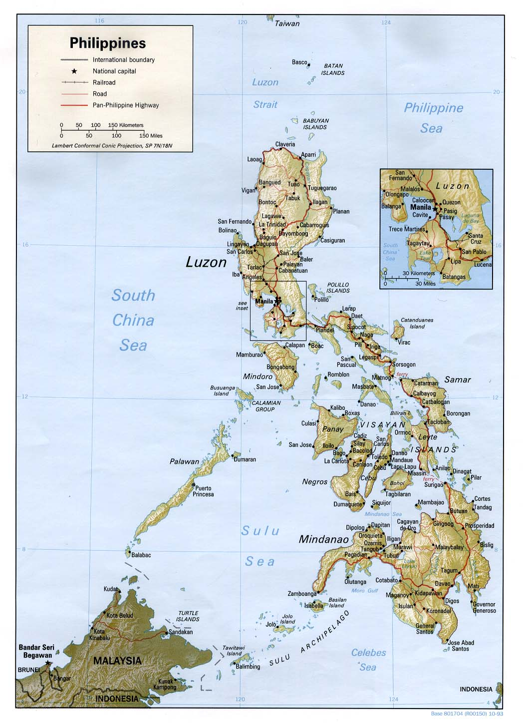 geography and culture of the philippines Geography the philippines is an archipelago, or string of over 7,100 islands, in southeastern asia between the south china sea and the pacific ocean the two largest islands, luzon and mindanao, make up for two-thirds of the total land area.