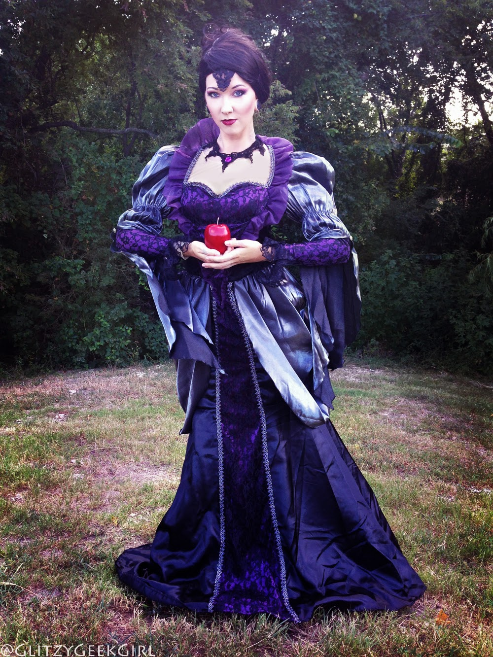 once upon a time cosplay evil queen regina costume