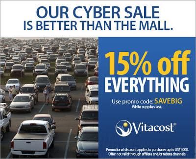 Vitacost Cyber Sale