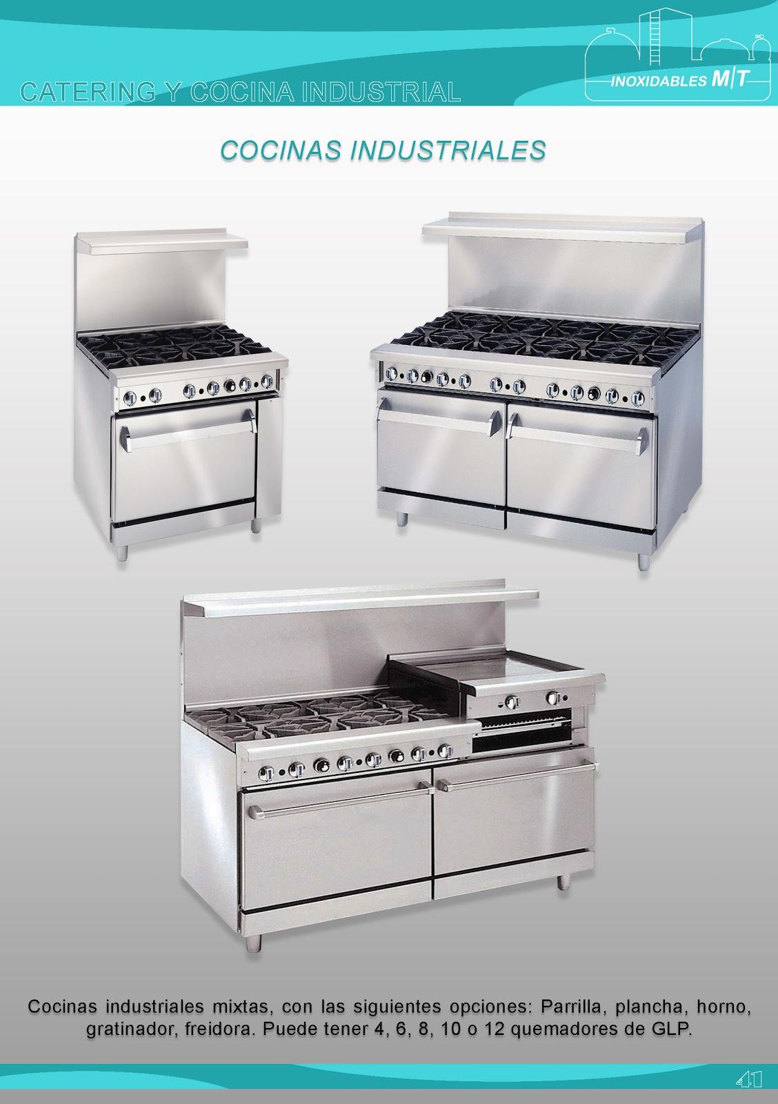 Inoxidables mt conoce el acero inoxidable inoxidables mt for Equipo manual de cocina