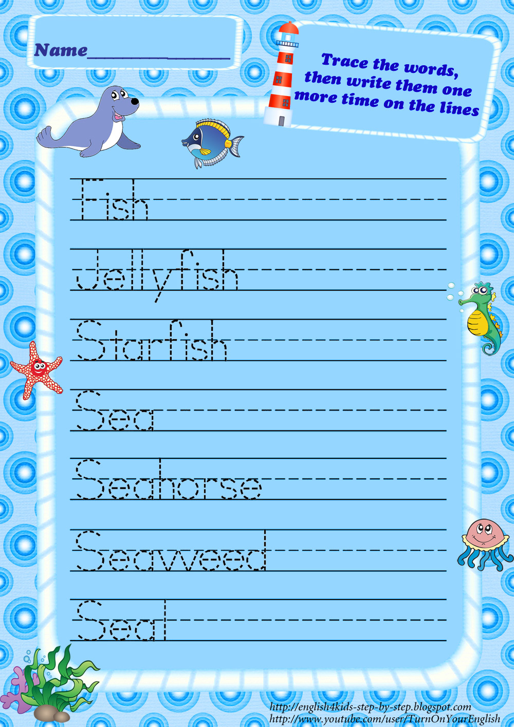 ocean writing paper View our free printable lined writing paper templates for children at ichild we have lots of themed activities and printables for kids and children.