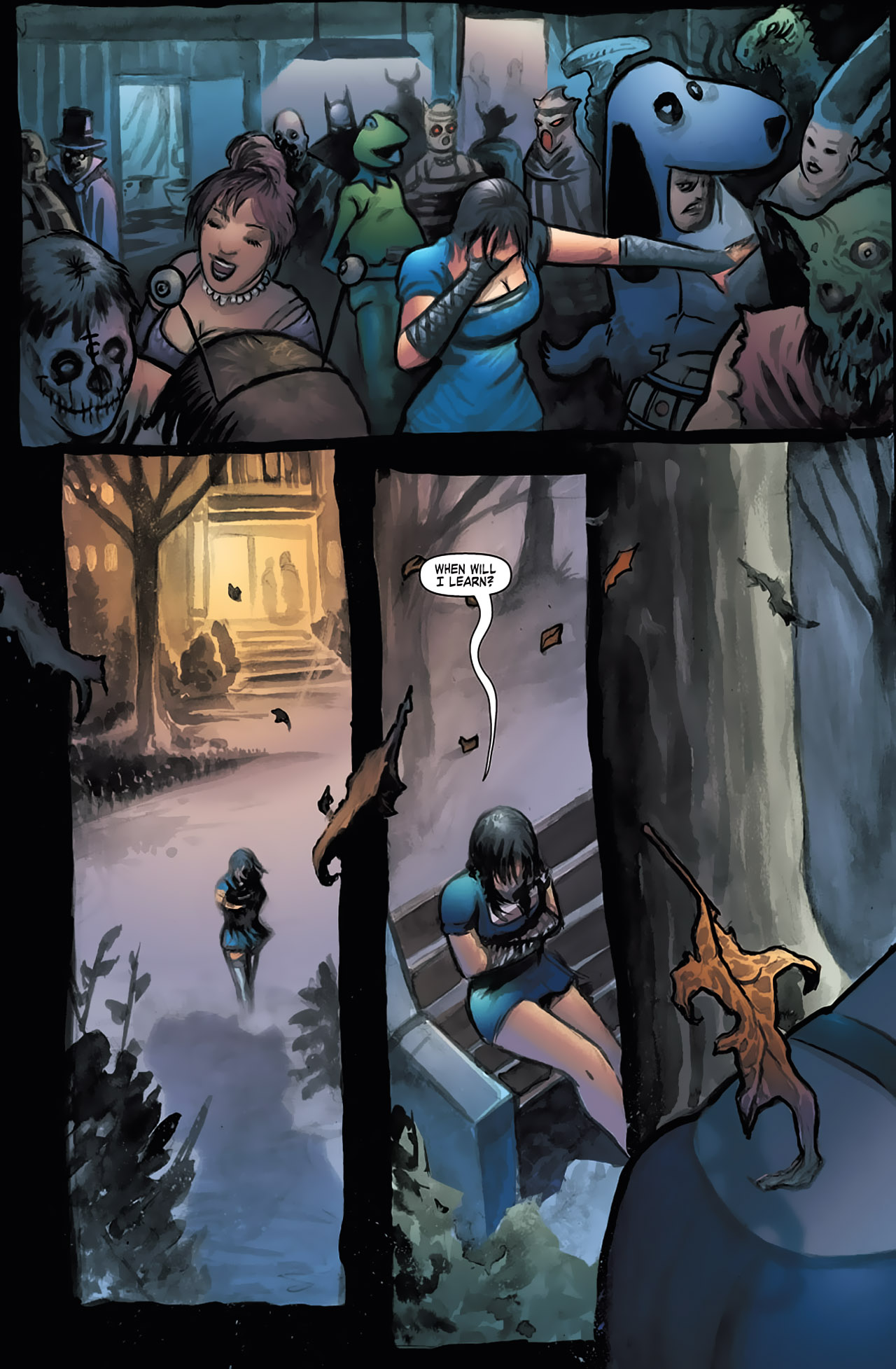 Grimm Fairy Tales (2005) Issue #13 #16 - English 3