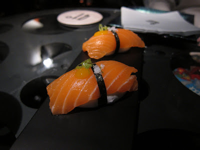 Sushi deconstructed at 41 Degrees