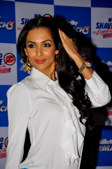malaika arora at no shave no lipstick launch photo gallery