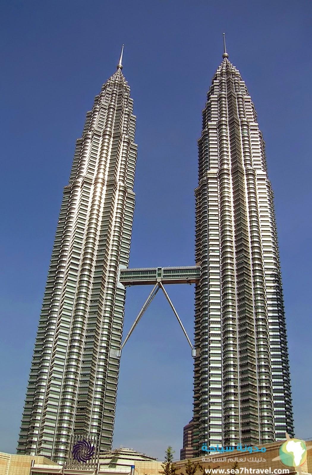 أبراج بيترونز السياحية فى ماليزيا