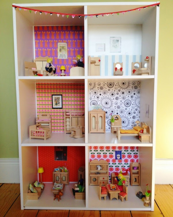 How To Make A Bookcase Dollhouse