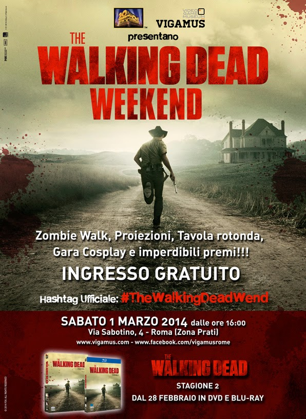 The Walking Dead Weekend - Vigamus (Roma)