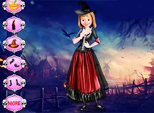 Riley Halloween Spooky