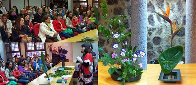 Taller de Ikebana. Arte floral japonés