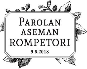Parolan aseman Rompetori 9.6.2018