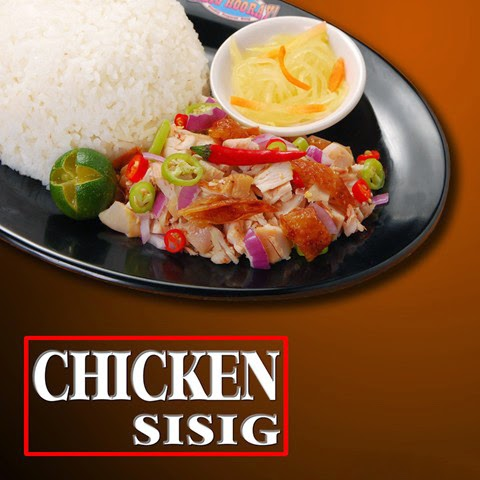 Chicken sisig