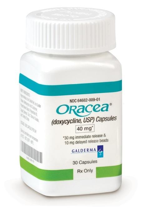 rosacea behandling antibiotika