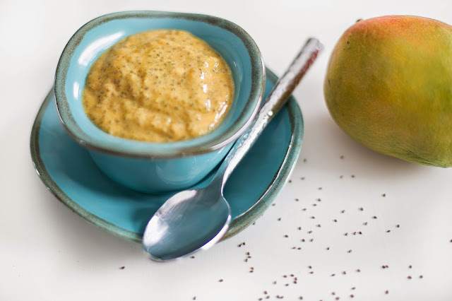 Mango Chia Pudding | Windy Poplars