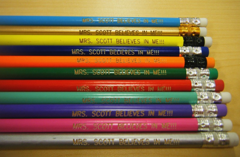 Not Just For Elementary Personalized Pencils