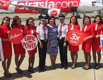Pilot: Capt. Gisela Bendong, Co-pilot: First Officer Andrea Maria R. Halaquena, Flight attendants: Blanche Garcia, Christine Shane Dinong, Anjeline Garchitorena, Marah Gaa, Mayumi Arima, and Jana Trajano.