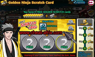 Cheat Golden Scratch Cards Update