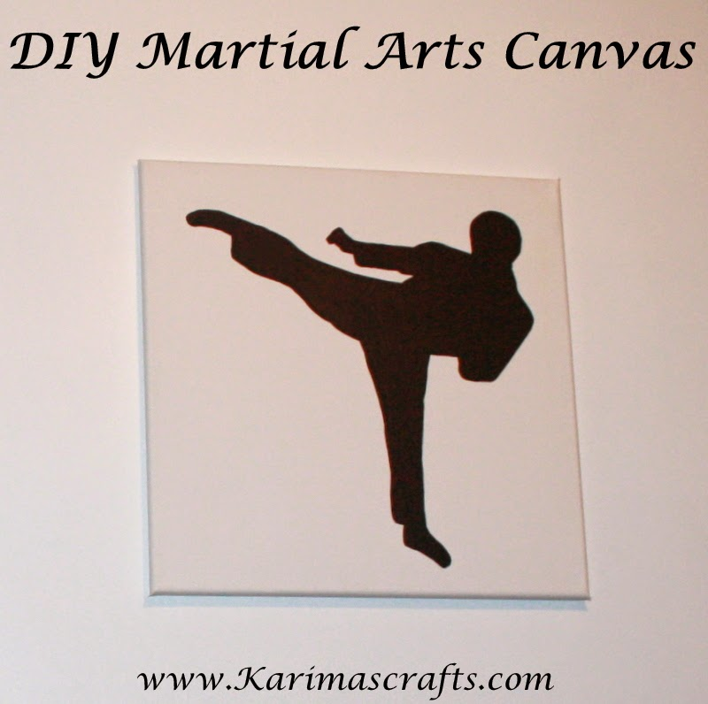 diy martial arts canvas