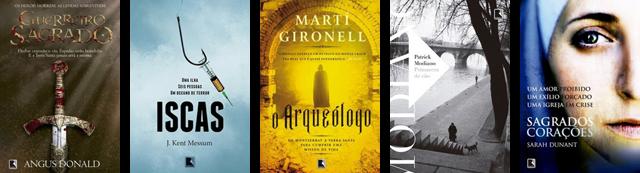 Lançamento de Livros - Abril / Editora Record