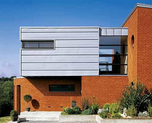 Architecture villa image for Architecture zinc