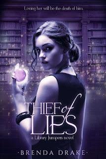 Thief of Lies by Brenda Drake on Amber, the Blonde Writer blog