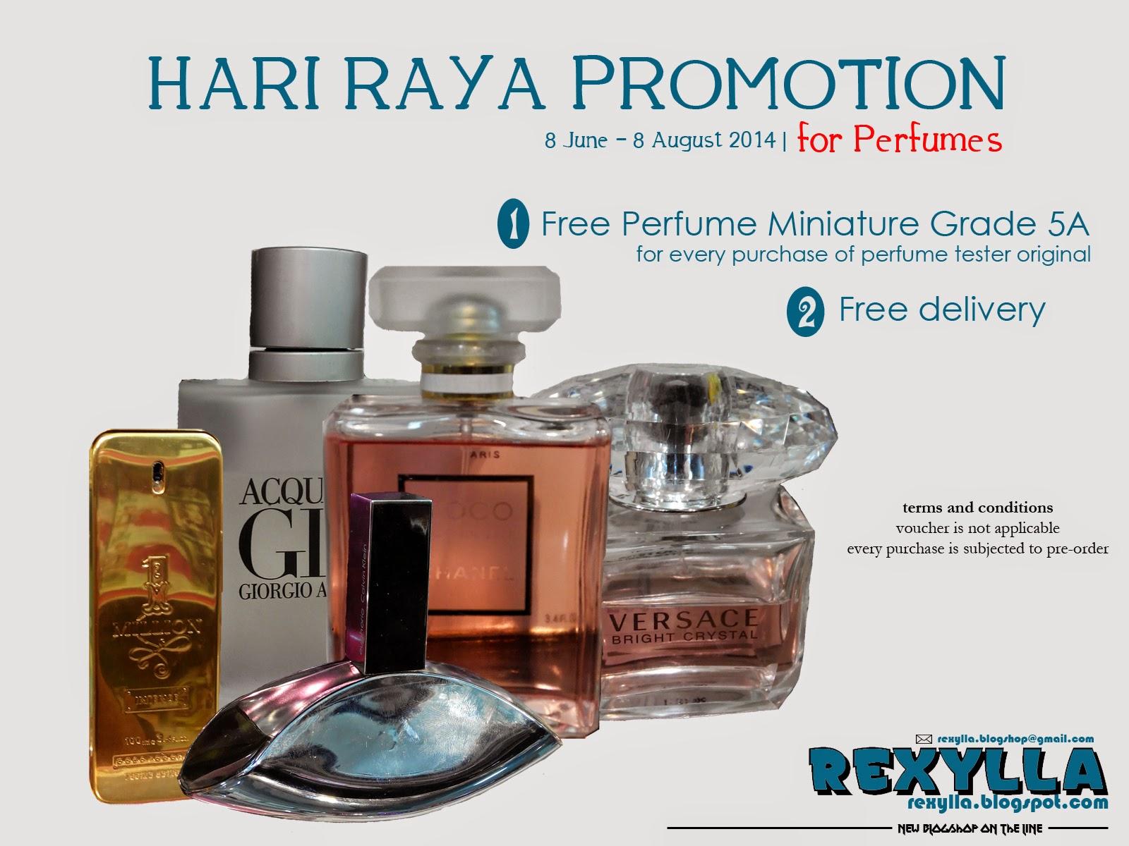 rexylla, hari raya promotion 2014, promosi hari raya 2014