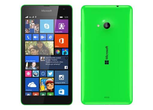 Spesifikasi dan Harga Microsoft Lumia 535