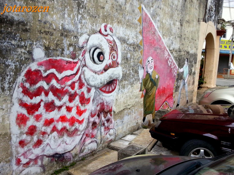 Footsteps Jotaro S Travels Gallery Street Art Of Gopeng