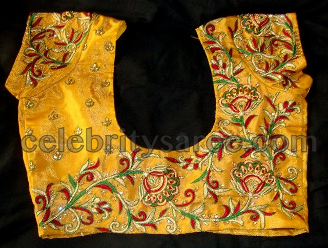 Swarovski Tissue Designer Blouse