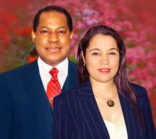 Pastor Chris Oyakhilome and his wife, Anita