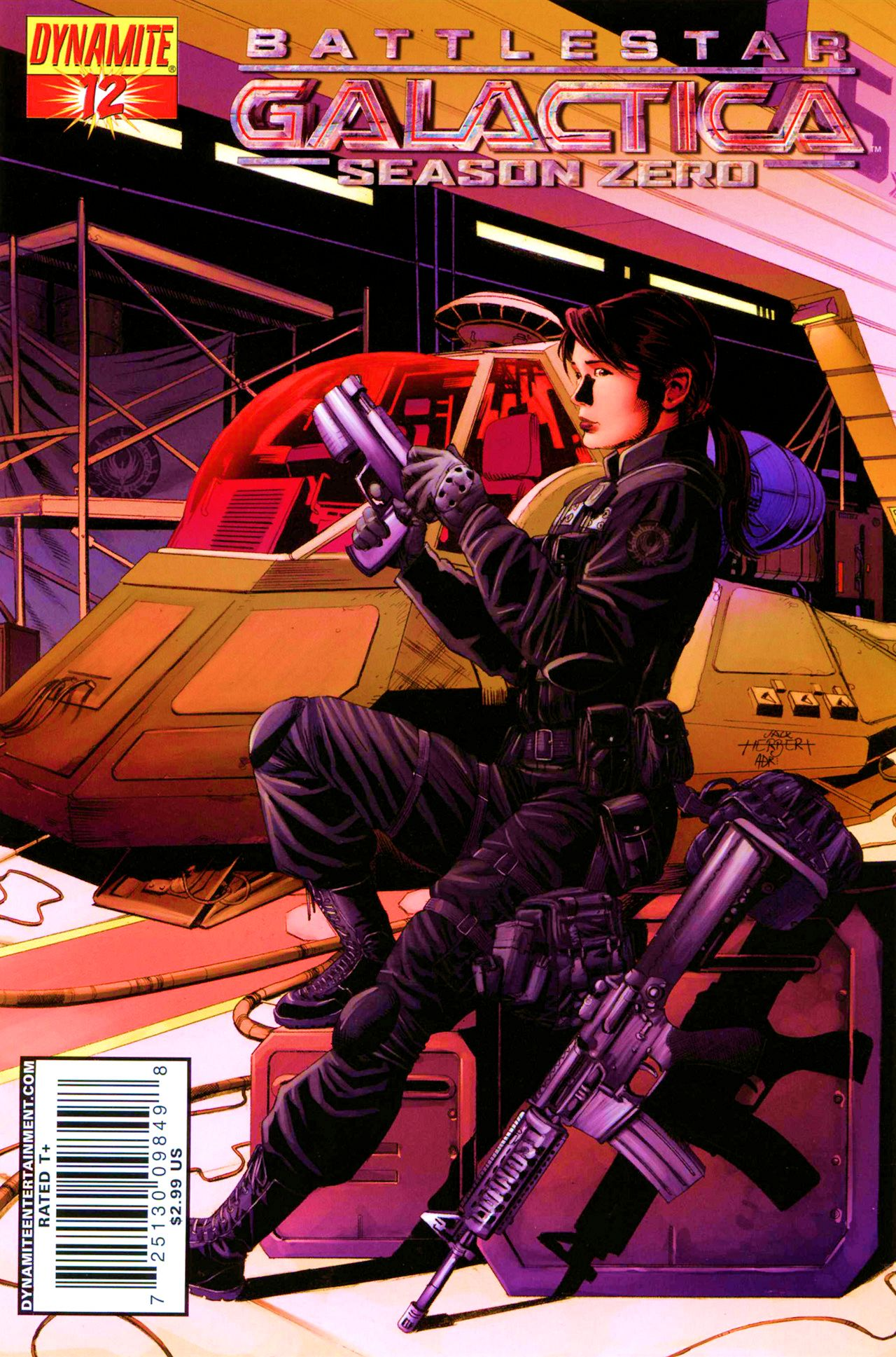 Battlestar Galactica: Season Zero 12 Page 1