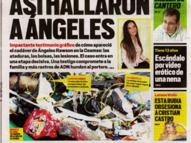 Los desafiantes del espectaculo 15 a os repudio a las for Diario el show del espectaculo