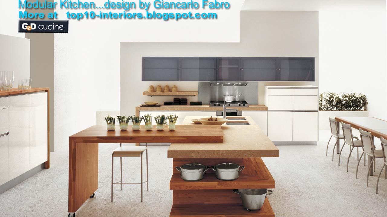 top 10 interiors Top10 Modular Kitchen PART6 10photos