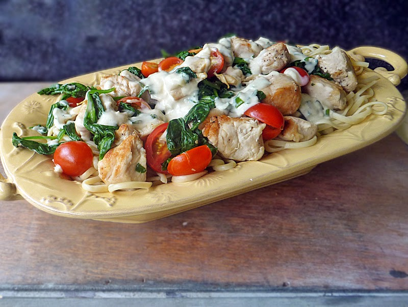 Chicken Florentine Pasta Recipe | by Life Tastes Good is chicken ...