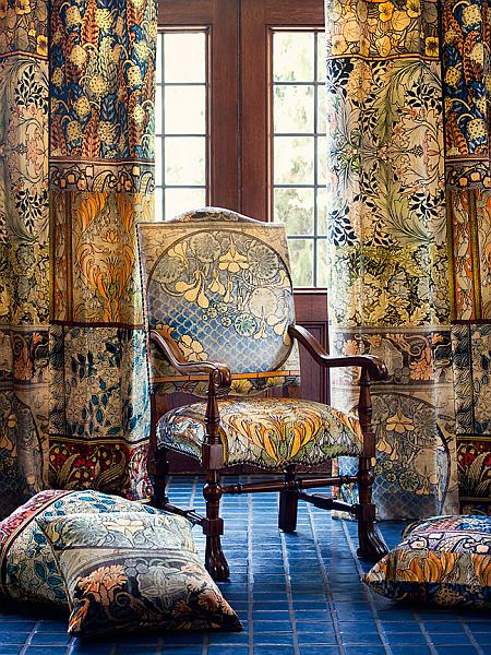 floral velvet fabrics