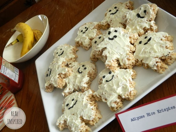 Doctor Who food Adipose rice krispy treats