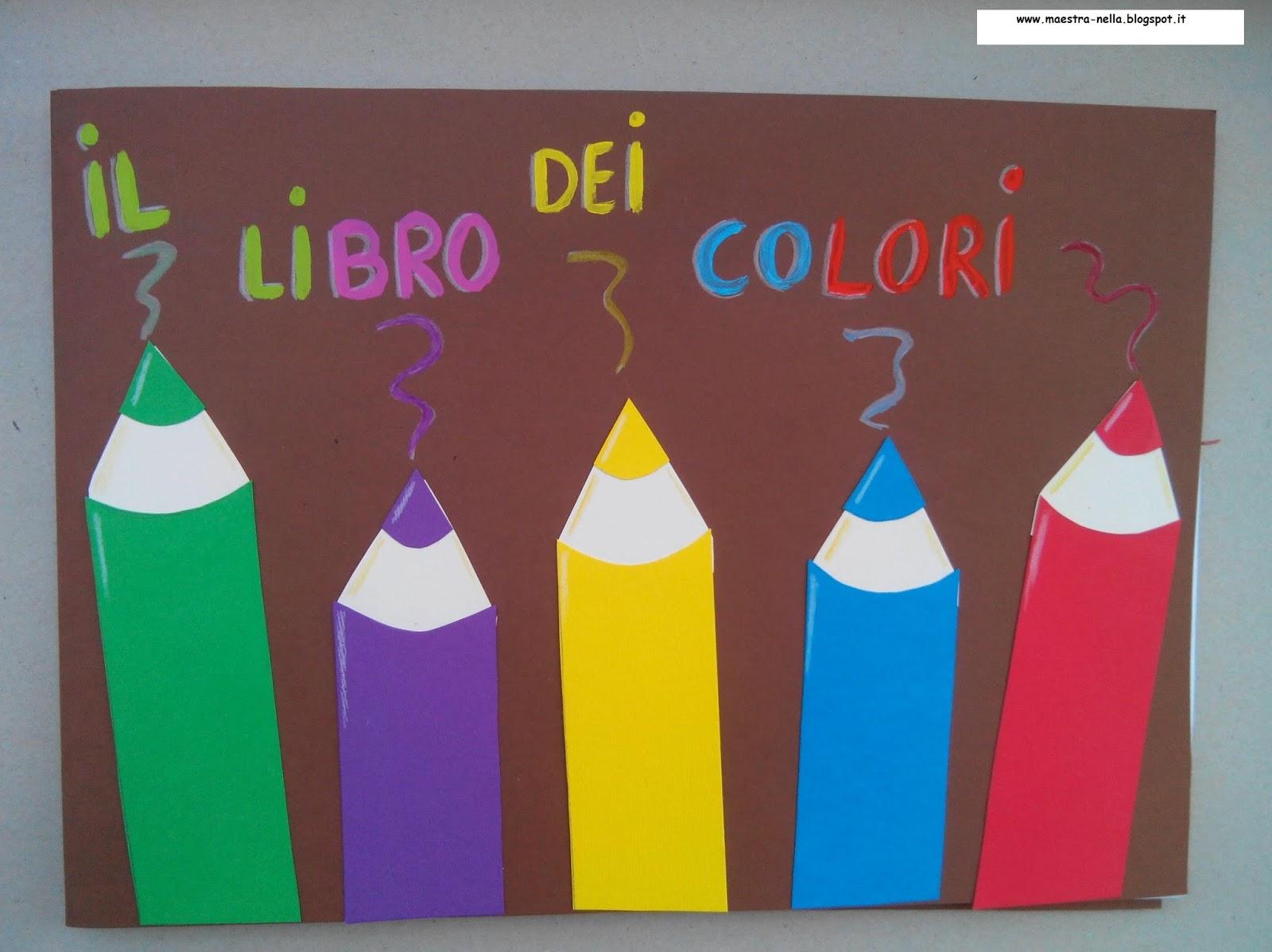 Estremamente schede didattiche sui colori scuola infanzia - Poesie primaverili per la scuola materna ...