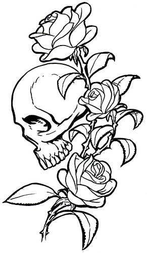 The Charming Tattoo Stencil Designs Image