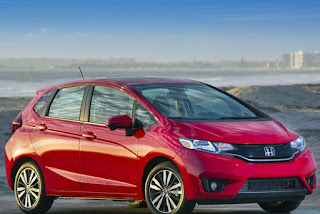2015 NEw Honda Fit Sporty car front view