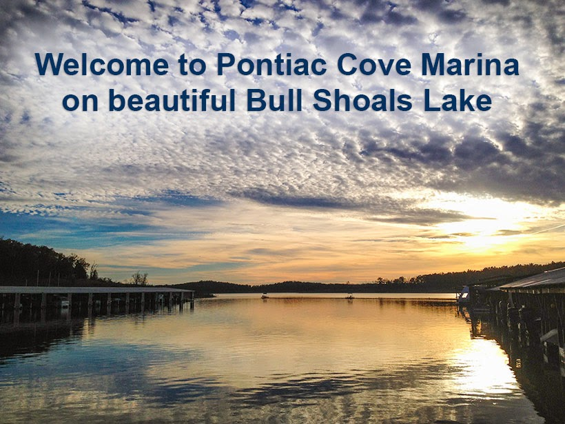 Welcome to Pontiac Cove Marina on beautiful Bull Shoals Lake