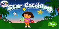 Игра Dora The Explorer Star Catching