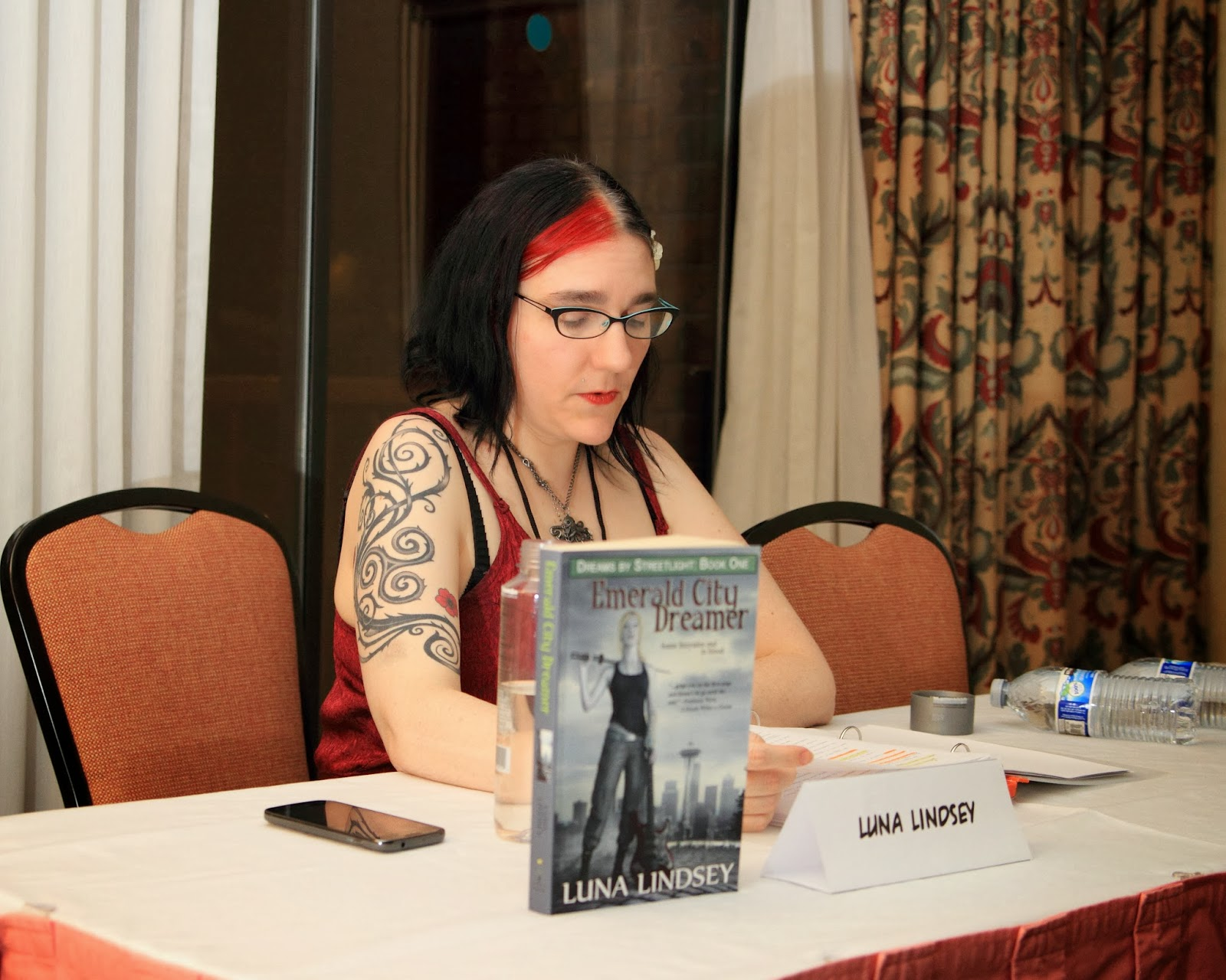 luna lindsey reading touch of tides from crossed genres magazine