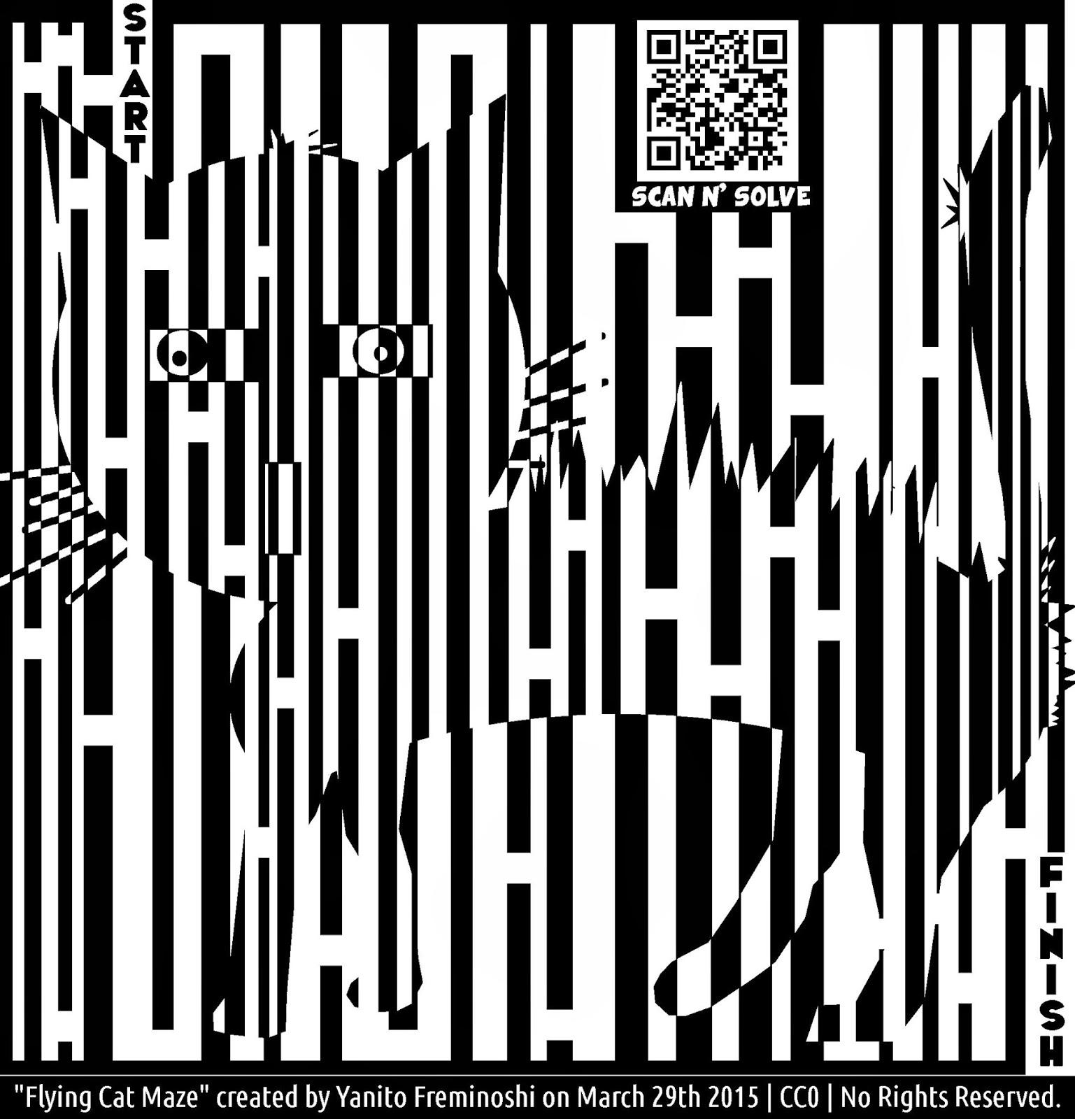 Flying Cat Maze