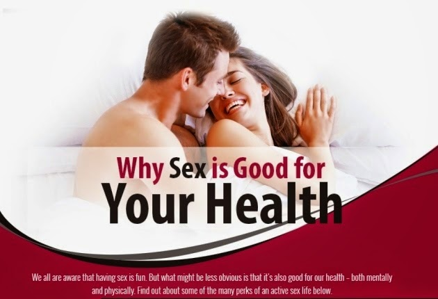 Infographic: Why Sex is Good for Your Health