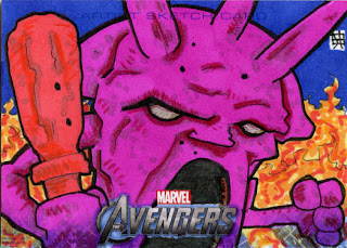 avengers, jinku, lava man, lava men, witch doctor