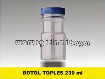 Jual Toples Plastik 230ml Bumbu dapur